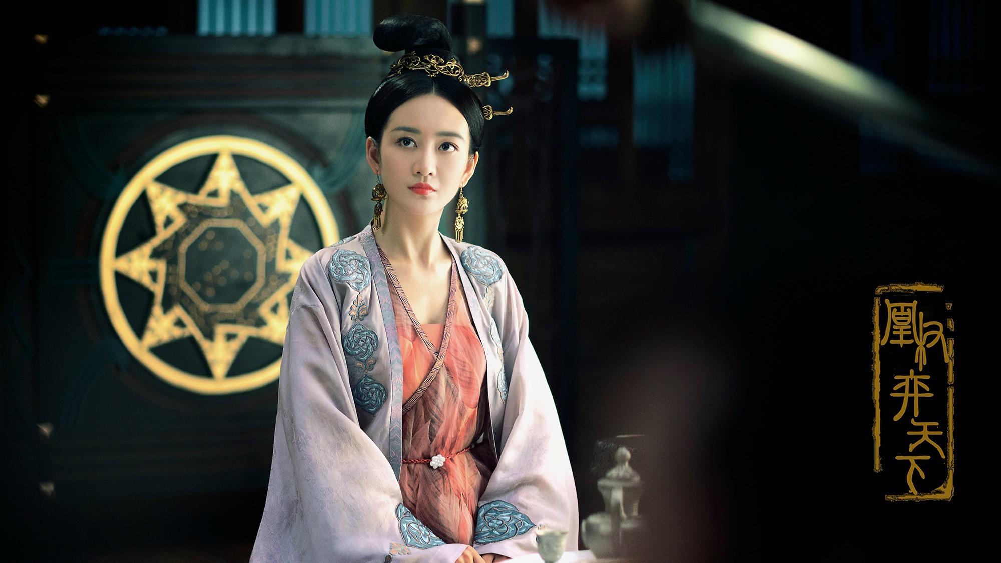 Vương Âu trong vai Hoa Quỳnh - nữ tướng triều Thiên Thịnh.
