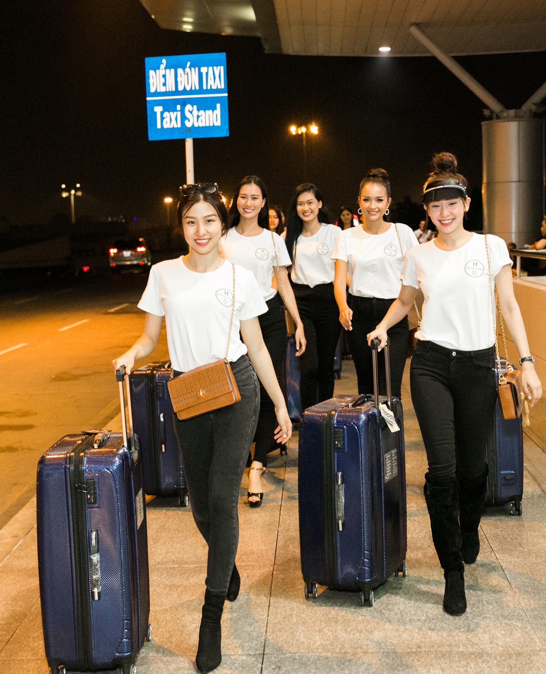 Minh Tú diện style khoẻ khoắn, cùng dàn thí sinh Miss Supranational Vietnam 2018 sang Hàn chuẩn bị đêm chung kết - Ảnh 6.