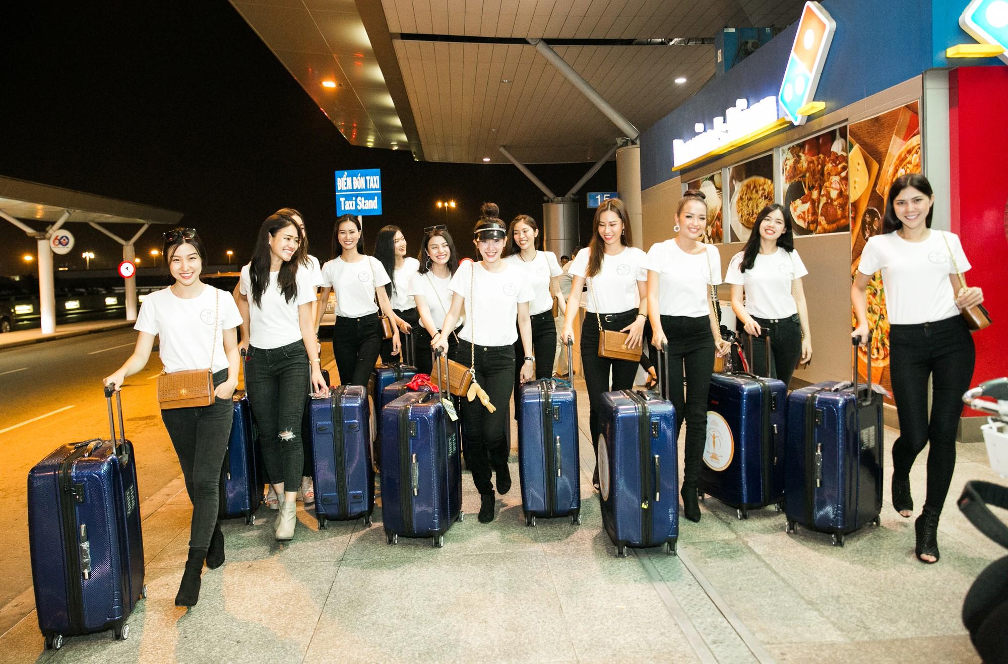 Minh Tú diện style khoẻ khoắn, cùng dàn thí sinh Miss Supranational Vietnam 2018 sang Hàn chuẩn bị đêm chung kết - Ảnh 5.