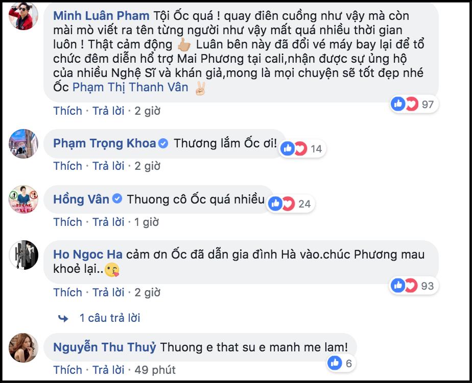 Ốc Thanh Vân và MC Đại Nghĩa vận động quyên góp được 300 triệu, miễn hoàn toàn học phí cho con gái Mai Phương - Ảnh 2.