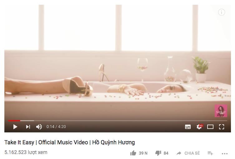 Hết lượng xem tăng giảm thất thường, đến lượt dislike MV của Hồ Quỳnh Hương cũng bay màu khó hiểu! - Ảnh 2.