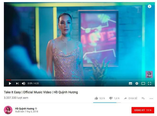 Hết lượng xem tăng giảm thất thường, đến lượt dislike MV của Hồ Quỳnh Hương cũng bay màu khó hiểu! - Ảnh 1.