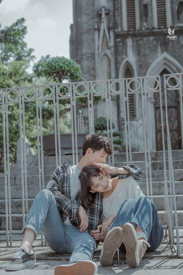 Đang trầm trồ vì Hàn Quốc đẹp quá thì mới nhận ra bộ ảnh này được chụp... 100% giữa lòng Hà Nội - Ảnh 8.