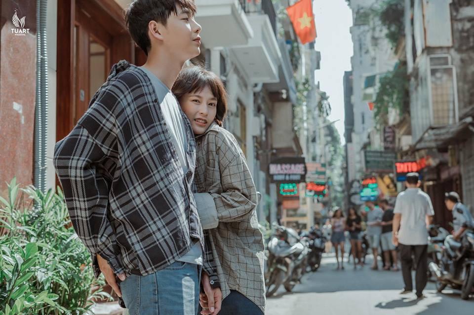 Đang trầm trồ vì Hàn Quốc đẹp quá thì mới nhận ra bộ ảnh này được chụp... 100% giữa lòng Hà Nội - Ảnh 7.