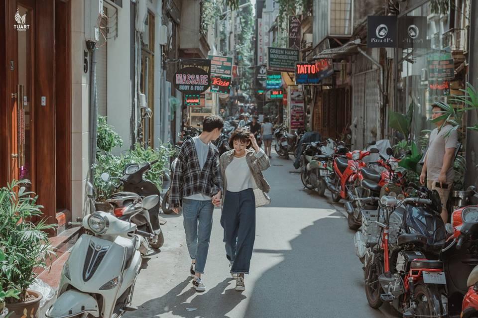 Đang trầm trồ vì Hàn Quốc đẹp quá thì mới nhận ra bộ ảnh này được chụp... 100% giữa lòng Hà Nội - Ảnh 4.