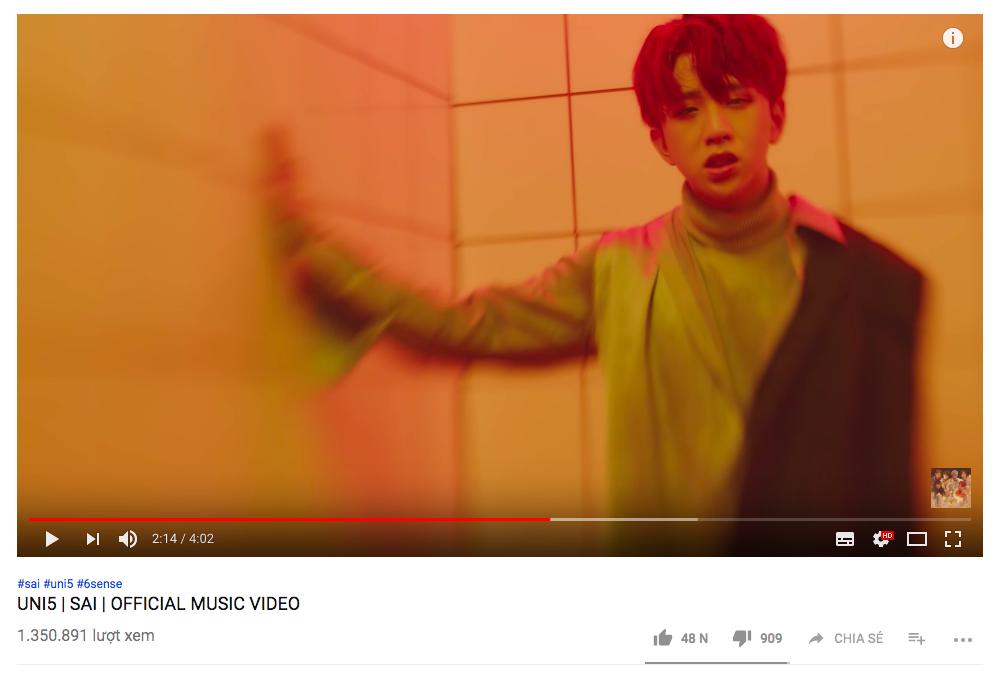 MV mới của Uni5 cán mốc triệu view sau 1 ngày, các thành viên hoang mang vì không ngờ fan lại thích đề tài đam mỹ - Ảnh 2.