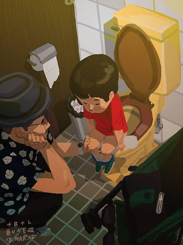 Bộ tranh cha và con trai đầy cảm xúc mà bất cứ ông bố trẻ nào cũng thấy mình trong đó - Ảnh 6.