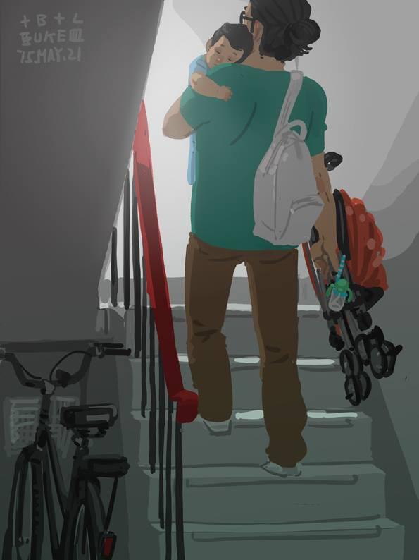 Bộ tranh cha và con trai đầy cảm xúc mà bất cứ ông bố trẻ nào cũng thấy mình trong đó - Ảnh 16.