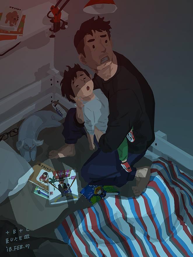 Bộ tranh cha và con trai đầy cảm xúc mà bất cứ ông bố trẻ nào cũng thấy mình trong đó - Ảnh 20.