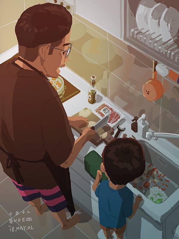 Bộ tranh cha và con trai đầy cảm xúc mà bất cứ ông bố trẻ nào cũng thấy mình trong đó - Ảnh 36.
