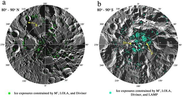 Phát hiện ra băng trên Mặt Trăng, thêm yếu tố vững chắc mới để xây dựng căn cứ tại nhà của Chị Hằng - Ảnh 2.