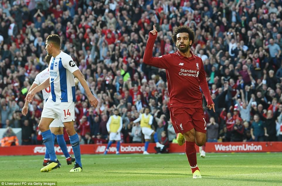 Salah ghi bàn nhanh như điện đưa Liverpool lên ngôi đầu bảng xếp hạng Premier League 2018/19 - Ảnh 7.