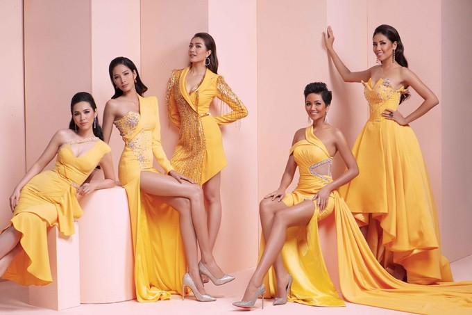 Giữa dàn người đẹp Hoa hậu Hoàn vũ Việt Nam, HHen Niê nổi bật với nhan sắc đầy sắc sảo và cá tính - Ảnh 2.