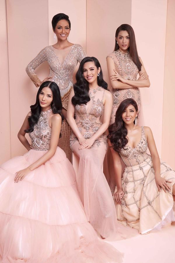 Giữa dàn người đẹp Hoa hậu Hoàn vũ Việt Nam, HHen Niê nổi bật với nhan sắc đầy sắc sảo và cá tính - Ảnh 1.