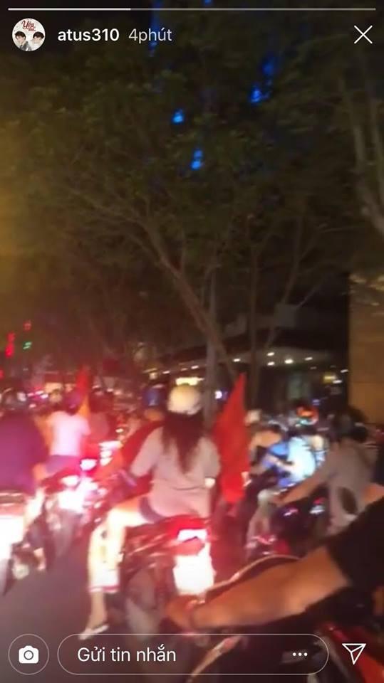 Sao Vbiz vỡ oà sung sướng khi Văn Toàn ghi bàn, đưa Việt Nam vào bán kết ASIAD 2018 - Ảnh 12.