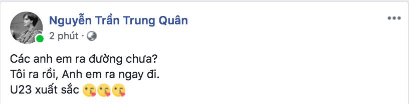 Sao Vbiz vỡ oà sung sướng khi Văn Toàn ghi bàn, đưa Việt Nam vào bán kết ASIAD 2018 - Ảnh 14.