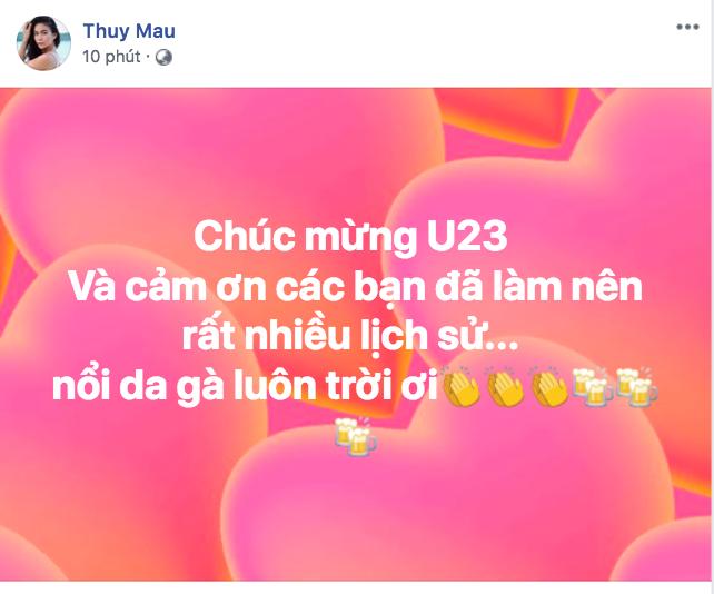 Văn Toàn ghi bàn Việt Nam vs Syria, Tuấn Hưng, Chi Pu vỡ òa sung sướng - Ảnh 6.