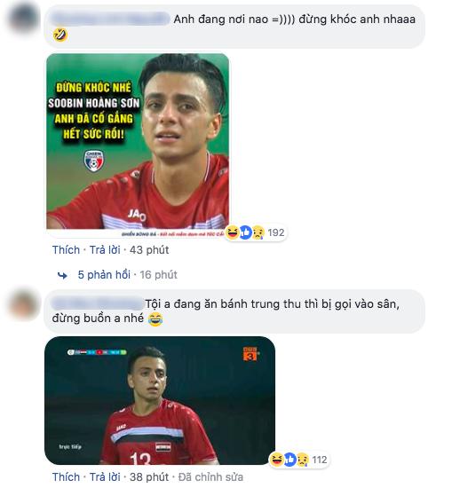 Soobin Hoàng Sơn được gọi tên vì giống cầu thủ Syria ASIAD 2018- Ảnh 2.