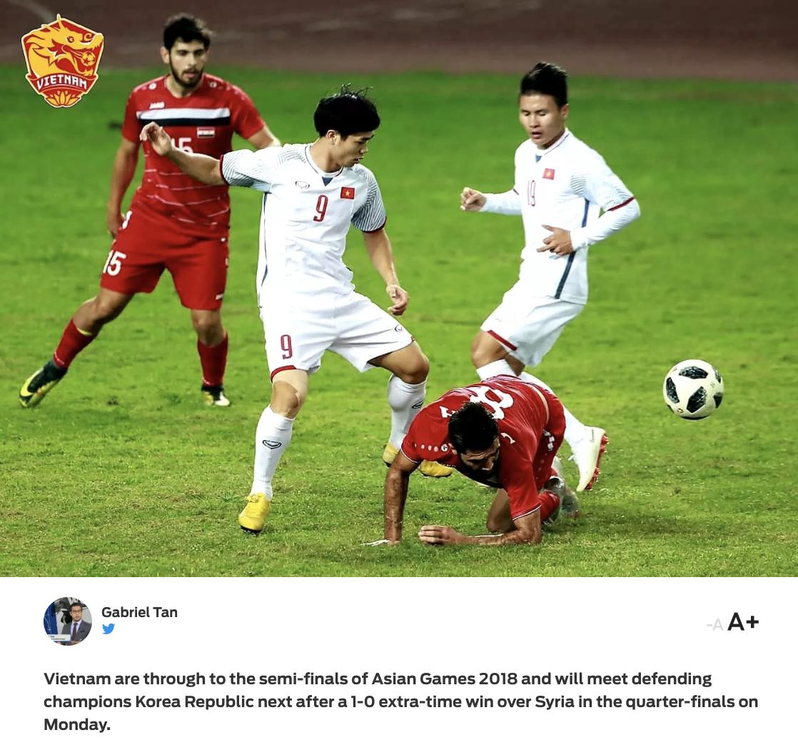 Báo chí nước ngoài hết lời ca tụng đội tuyển Việt Nam sau chiến thắng 1-0 trước Syria - Ảnh 5.