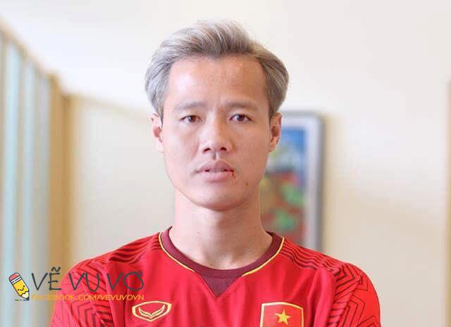 Chùm ảnh chế: Các tuyển thủ Olympic Việt Nam đồng loạt nhuộm tóc bạch kim giống Văn Toàn để lấy may trước trận bán kết - Ảnh 8.