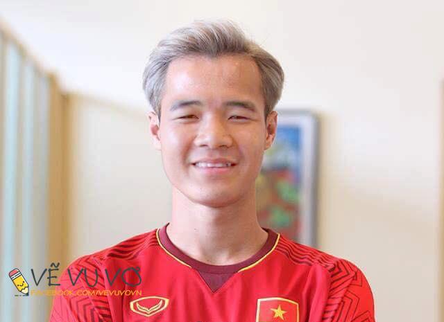 Chùm ảnh chế: Các tuyển thủ Olympic Việt Nam đồng loạt nhuộm tóc bạch kim giống Văn Toàn để lấy may trước trận bán kết - Ảnh 9.