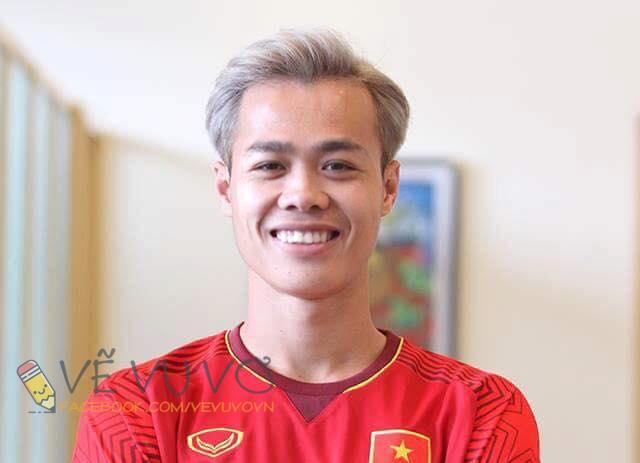 Chùm ảnh chế: Các tuyển thủ Olympic Việt Nam đồng loạt nhuộm tóc bạch kim giống Văn Toàn để lấy may trước trận bán kết - Ảnh 2.
