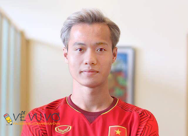 Chùm ảnh chế: Các tuyển thủ Olympic Việt Nam đồng loạt nhuộm tóc bạch kim giống Văn Toàn để lấy may trước trận bán kết - Ảnh 11.