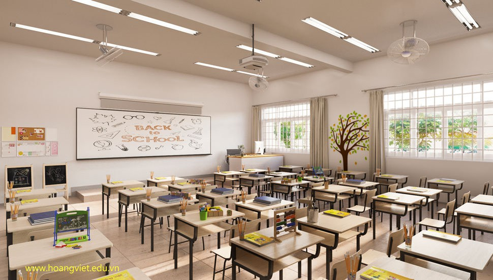 Choáng ngợp với sự sang chảnh của ngôi trường giữa phố núi Tây Nguyên, nơi được ví như Dubai Việt Nam - Ảnh 4.