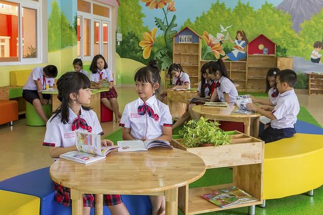 Choáng ngợp với sự sang chảnh của ngôi trường giữa phố núi Tây Nguyên, nơi được ví như Dubai Việt Nam - Ảnh 15.