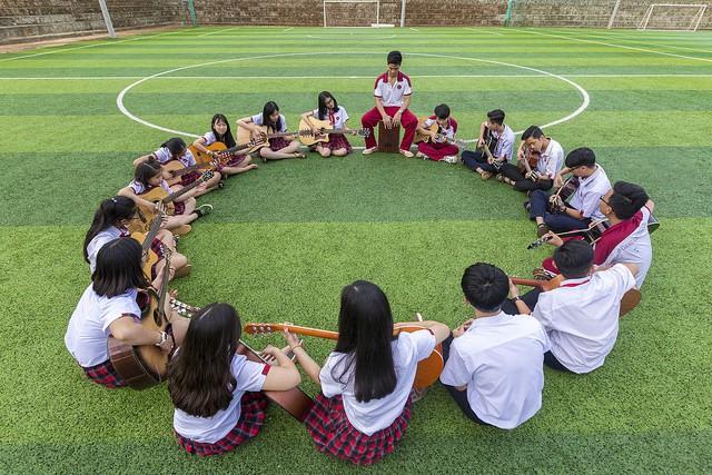 Choáng ngợp với sự sang chảnh của ngôi trường giữa phố núi Tây Nguyên, nơi được ví như Dubai Việt Nam - Ảnh 24.