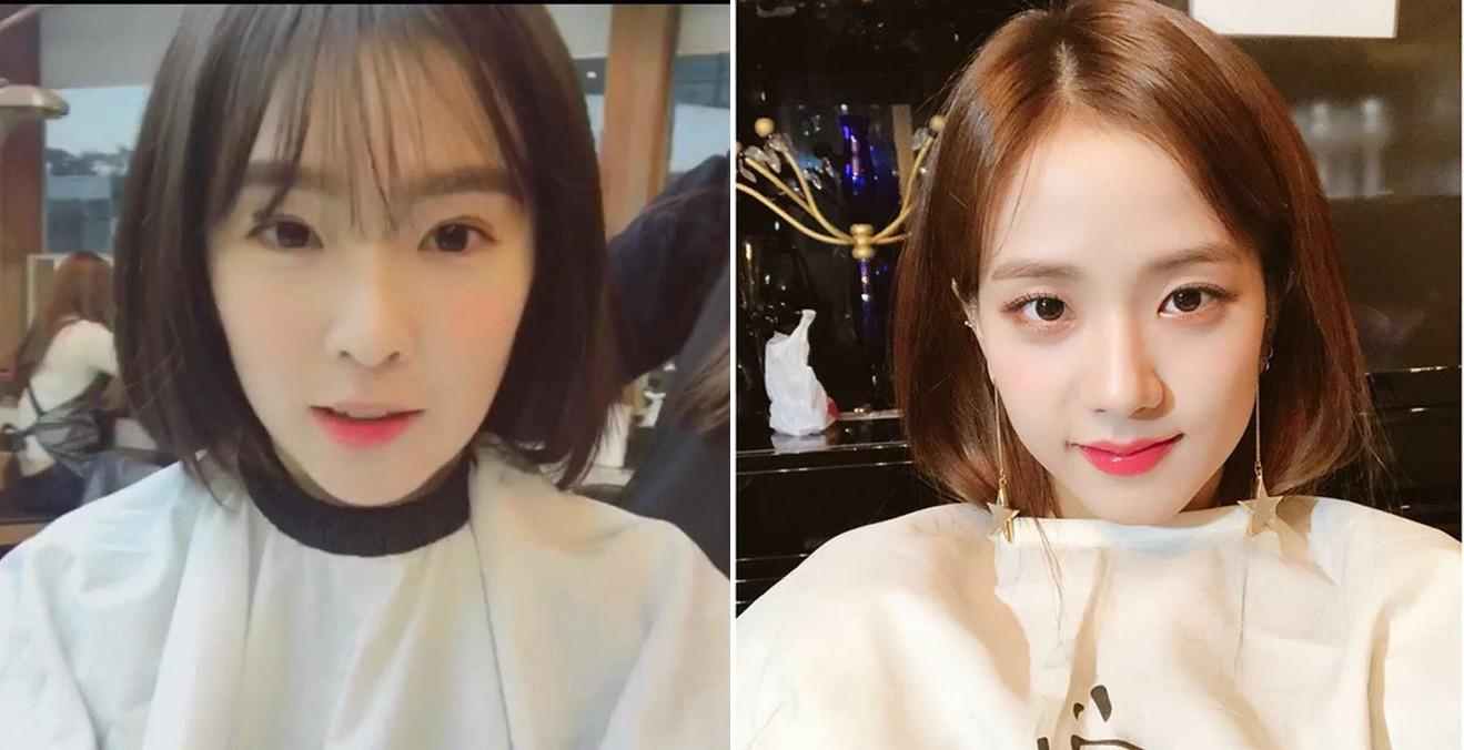 Bàn cân visual giữa Irene (Red Velvet) và Jisoo (Black Pink): makeup và làm tóc giống hệt, nhưng ai hơn ai? - Ảnh 2.