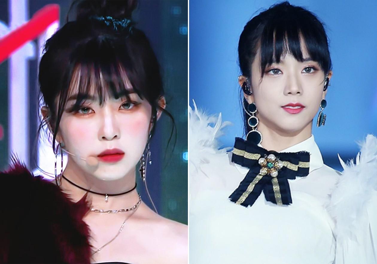 Bàn cân visual giữa Irene (Red Velvet) và Jisoo (Black Pink): makeup và làm tóc giống hệt, nhưng ai hơn ai? - Ảnh 5.