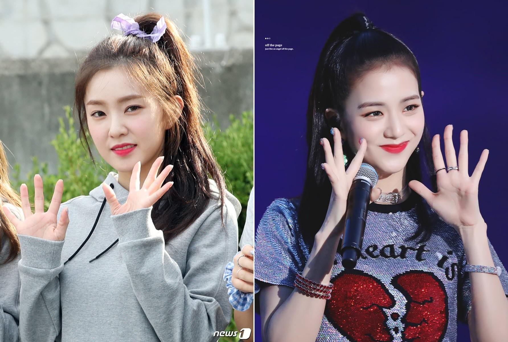 Bàn cân visual giữa Irene (Red Velvet) và Jisoo (Black Pink): makeup và làm tóc giống hệt, nhưng ai hơn ai? - Ảnh 7.