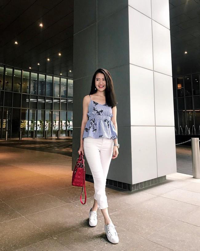 Trời chớm thu, loạt hot trend của mùa mới đều góp mặt trong street style tuần này của các quý cô châu Á - Ảnh 2.