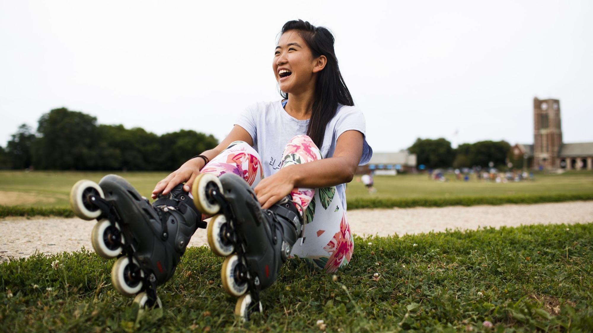 Cô gái 23 tuổi trượt patin xuyên nước Mỹ mà không một xu dính túi, thậm chí không có cả thức ăn nước uống - Ảnh 3.