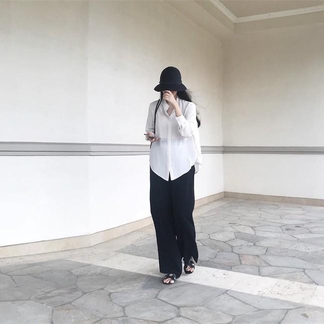 Trời chớm thu, loạt hot trend của mùa mới đều góp mặt trong street style tuần này của các quý cô châu Á - Ảnh 10.