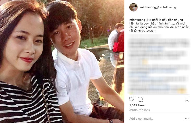 Đẹp trai lại vừa lập công cho đội tuyển Olympic Việt Nam, nhưng buồn là Minh Vương đã có bạn gái rồi chị em ơi! - Ảnh 2.
