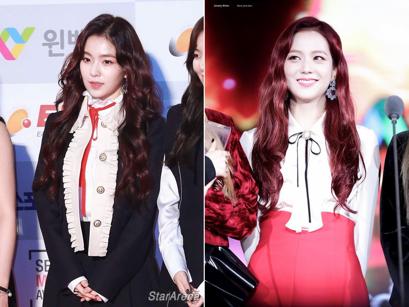 Bàn cân visual giữa Irene (Red Velvet) và Jisoo (Black Pink): makeup và làm tóc giống hệt, nhưng ai hơn ai? - Ảnh 8.