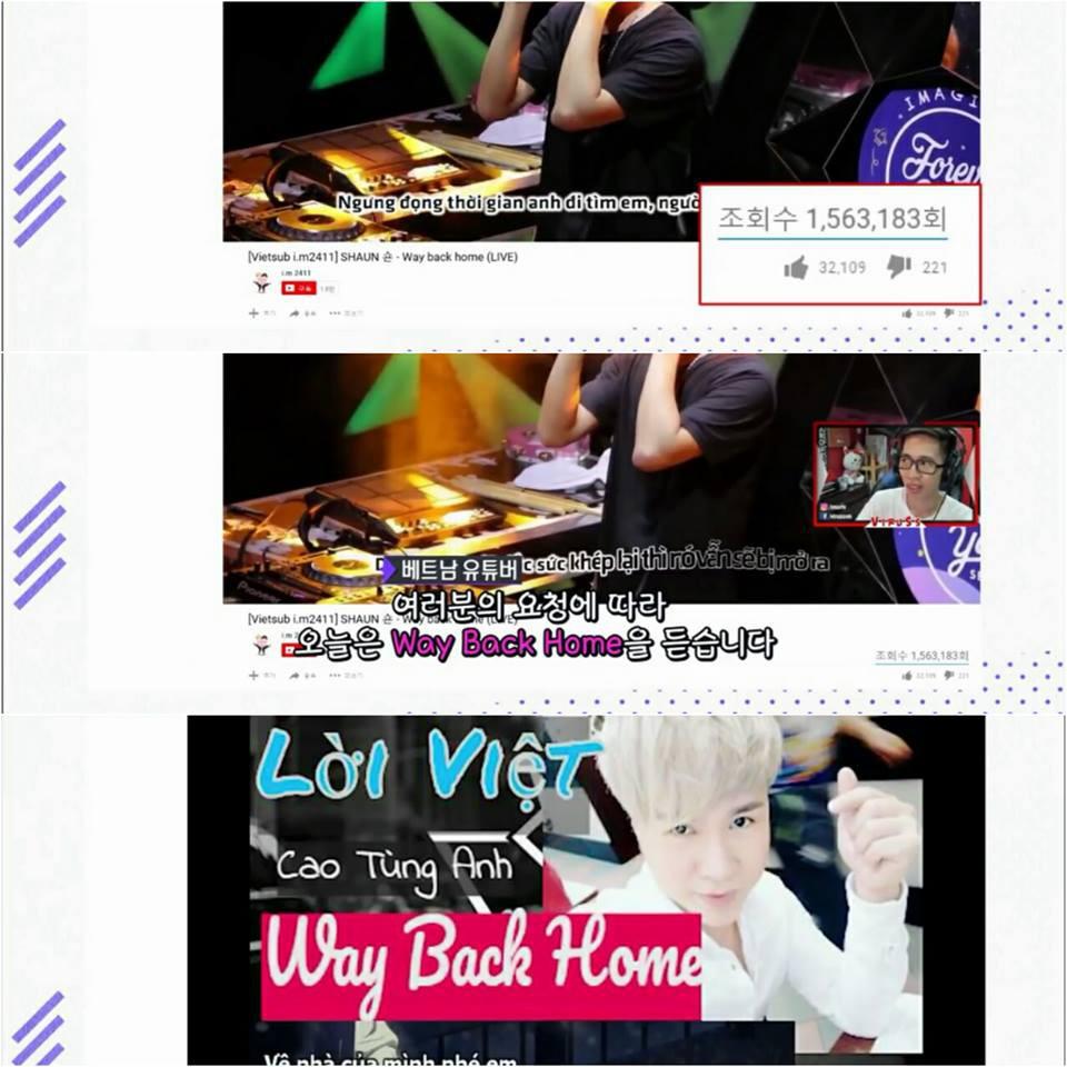 Shaun và siêu hit mùa hè Way Back Home nổi tiếng ở Việt Nam đến mức... lên sóng truyền hình Hàn Quốc - Ảnh 3.