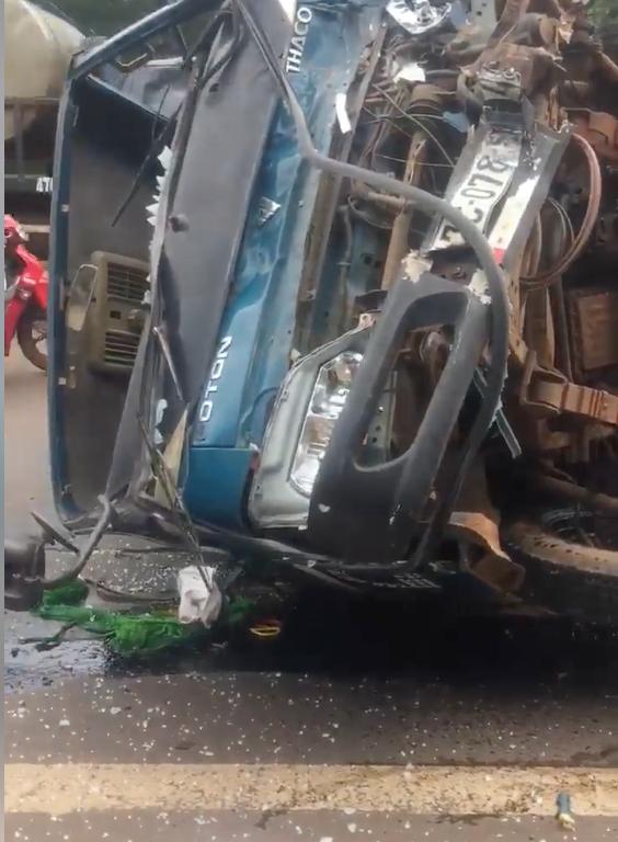 Chiếc xe tải trực tiếp gây tai nạn.