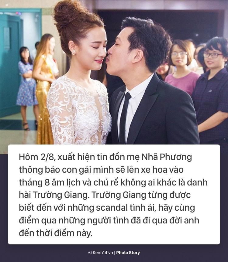 Trước tin đồn chuẩn bị kết hôn với Nhã Phương, cùng điểm qua những bóng hồng đã đi qua cuộc đời Trường Giang - Ảnh 1.