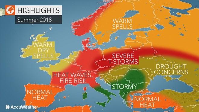 Cư dân Châu Âu sẽ sớm phải trải nghiệm khí hậu miền nhiệt đới giống Việt Nam nếu lượng CO2 vẫn gia tăng - Ảnh 1.