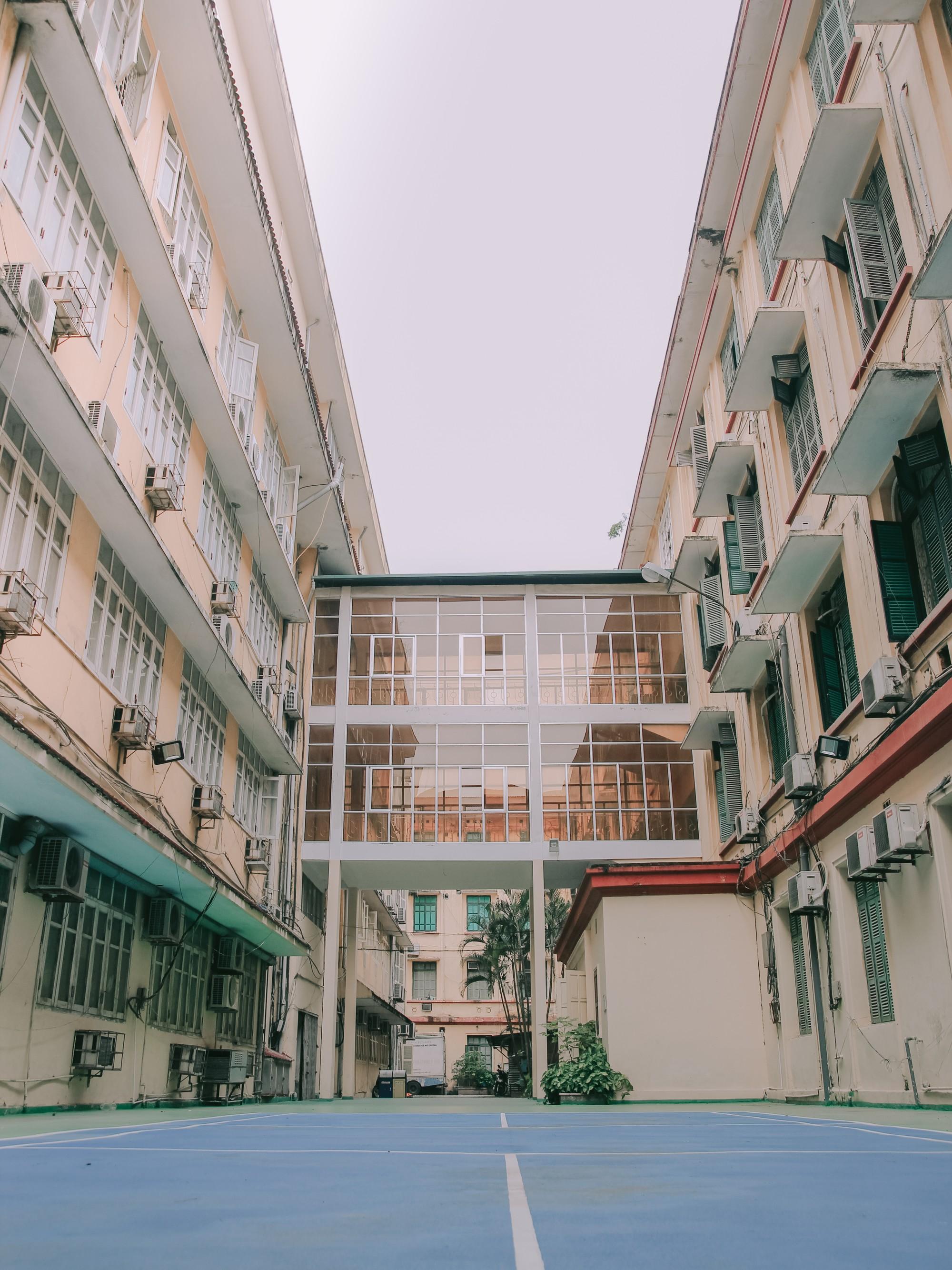 Ở Hà Nội có 1 ngôi trường mà đến cái thùng rác cũng là 1 góc sống ảo so deep - Ảnh 16.