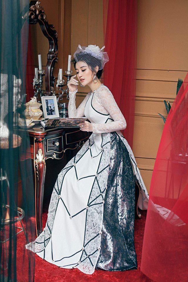 """Công thức diện đồ """"đinh"""" của Á hậu Huyền My: Mặc váy cực diêm dúa và nhất định phải cài thứ gì đó thật sến lên đầu - Ảnh 11."""