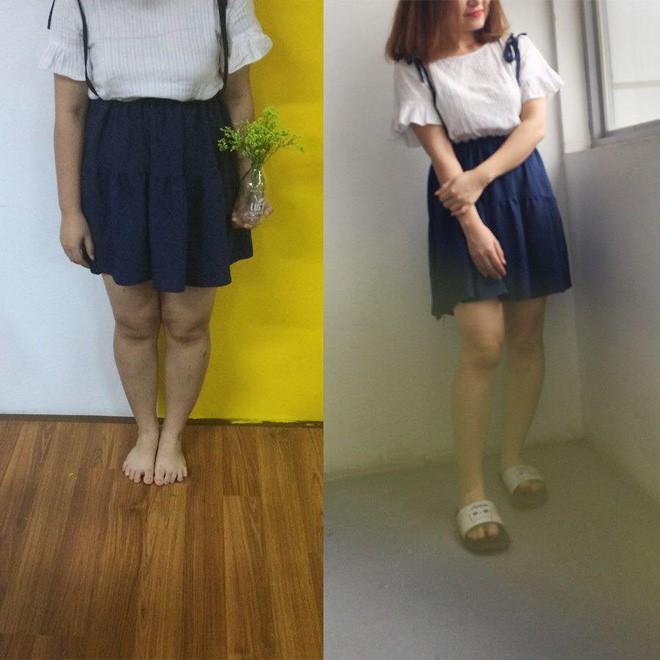 Cùng một chiếc váy, cùng 1 góc chụp cô gái đã chứng minh: Béo thế nào cũng sai, gầy thì auto đẹp! - Ảnh 5.