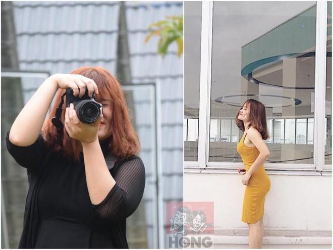 Cùng một chiếc váy, cùng 1 góc chụp cô gái đã chứng minh: Béo thế nào cũng sai, gầy thì auto đẹp! - Ảnh 9.