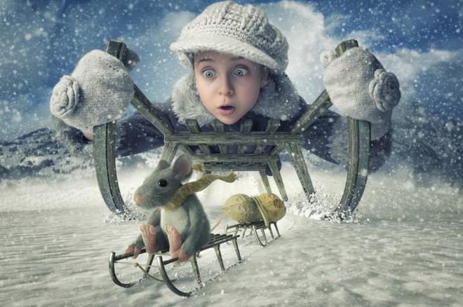 """Ông bố """"bựa nhất năm"""", chụp hình những đứa con và đưa chúng vào thế giới viễn tưởng bằng Photoshop - Ảnh 11."""