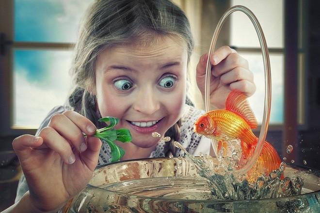 """Ông bố """"bựa nhất năm"""", chụp hình những đứa con và đưa chúng vào thế giới viễn tưởng bằng Photoshop - Ảnh 15."""