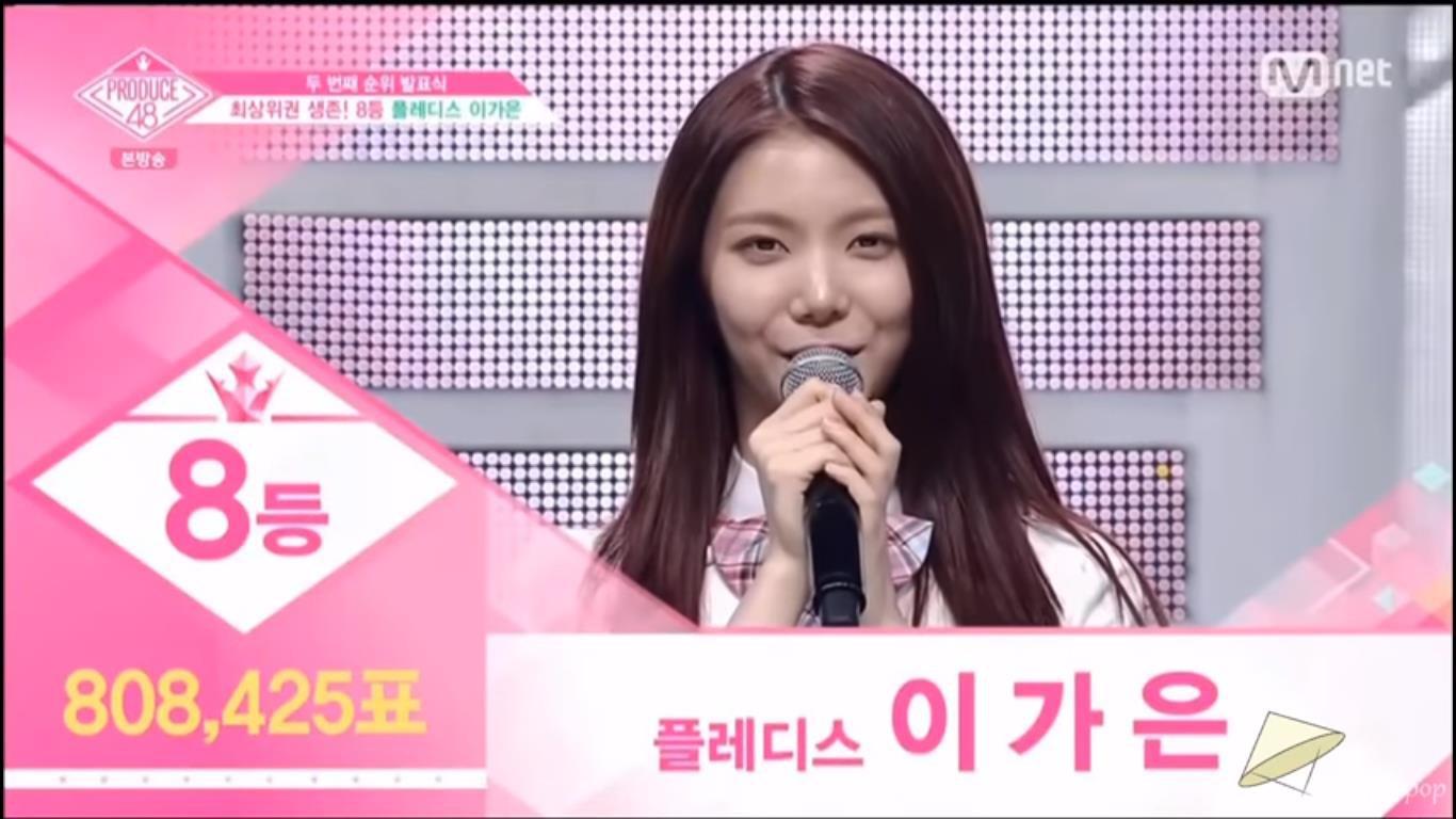 Produce 48 tập 8: Loạt ứng cử viên nặng kí rớt hạng thảm hại, bất ngờ với thí sinh đứng nhất - Ảnh 3.