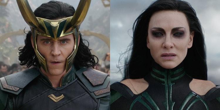 Hela và Loki có nhiều điểm tương đồng về ngoại hình là do chủ đích của Odin